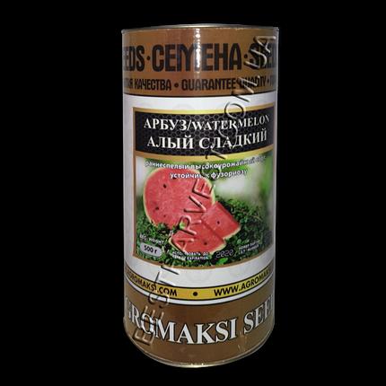 Насіння кавуна «Червоний Солодкий» 500 г, інкрустовані (Агромакси), фото 2