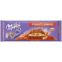 Шоколад Milka Peanut Caramel,300g