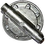 Блок водяной силуминовый (б.ф у, Китай) колонок газовых львовских ВПГ-18/23, к.з. 0290, фото 2