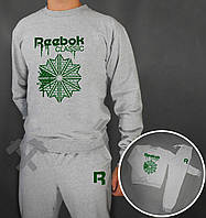 Спортивный костюм Reebok Classic серого цвета, фото 1