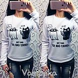 Женский красивый свитшот с принтами (различные варианты), фото 3