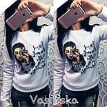 Женский красивый свитшот с принтами (различные варианты), фото 4