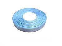 Лента атласная 1,2см цвет светло-голубой, 36ярдов