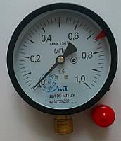 Манометр ДМ 05-МП-3У (Диаметр 100 мм; кл. точности 1,5) 1 МПа ТУ.У 33.2 - 14307481-031:2005, фото 1