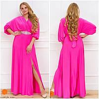 Вечернее платье с красивым поясом