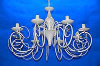 Люстра свеча  L29590/8 (GWT)