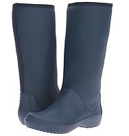 Резиновые сапоги женские Crocs Women's Rain Floe Tall Boot размер W9 39  Оригинал США