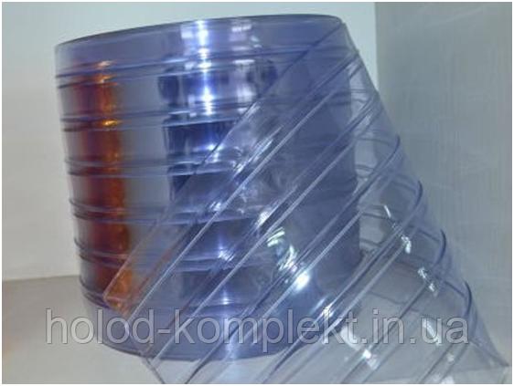 Термозавеса из ПВХ 200х2 мм. ребро, фото 2