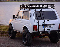 Экспедиционный багажник на  Ниву стандарт 4