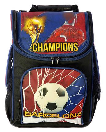 """Ранец  ортопедический """"Барселона"""" 7869 рюкзак детский  школьныы ранец, фото 2"""