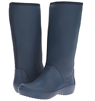 Резиновые сапоги женские Crocs Women's Rain Floe Tall Boot размер W10 40  Оригинал США