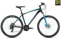Велосипед Spelli SX-2700 29ER disk 2017 черно-голубой