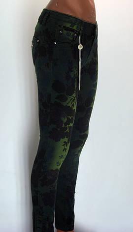 Жіночі джинси з  принтом від італійського бренду Murro Jano, фото 2