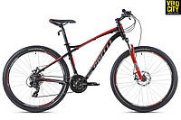 Велосипед Spelli SX-3200 29ER disk 2017 черно-красный