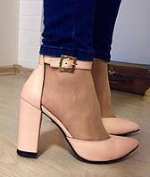Mante! Красивые женские пудра кожа босоножки туфли каблук 10 см весна лето осень