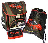 """Набор """"Racing"""" ранец+пенал+сумка для обуви 1002890"""