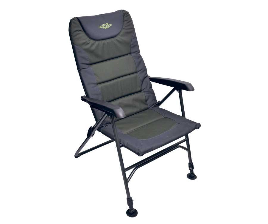 Крісло-шезлонг Carp Pro з регулюванням нахилу спинки