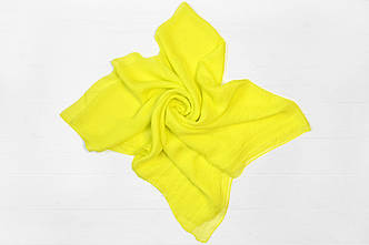 Платок Виктория желтый