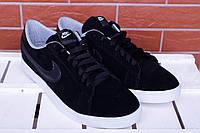 Кеды мужские низкие Nike sb черные (реплика)