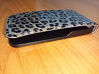 Флип чехол GUESS Leopard flip case for iPhone 4&4S (GUFLP4LEGR)