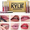 Помада Kylie Birthday Edition Gold набор 6 шт, Хит 2017 года, фото 5