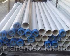 Труба для скважин обсадная д. 125х10атм\3м (резьба) Белая - Evci Plastik