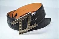 Ремень мужской кожаный. Ремень из натуральной кожи ZILLI