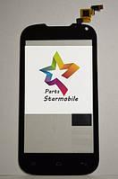 Сенсорный экран для мобильного телефона Nomi i401, черный