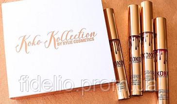 Набор помад Kylie Cosmetics Koko Kollection (3+1), фото 3