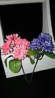 Искусственные цветы - хризонтема, разные цвета, выс. 23 см., 50 шт. в упаковке, 4.95 гр., фото 1