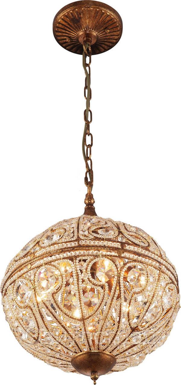 Люстра Хрустальная   Светильник Подвесной Altalusse INL-1096P-06 Spanish Gold
