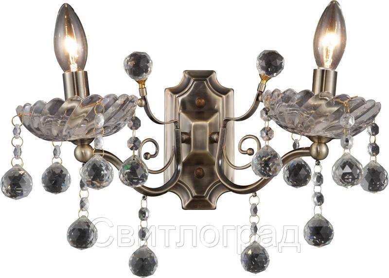 Бра Свеча  Классика  Altalusse INL-1103W-02 Antique Brass