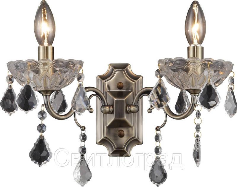Бра Свеча  Классика  Altalusse INL-1109W-02 Antique Brass