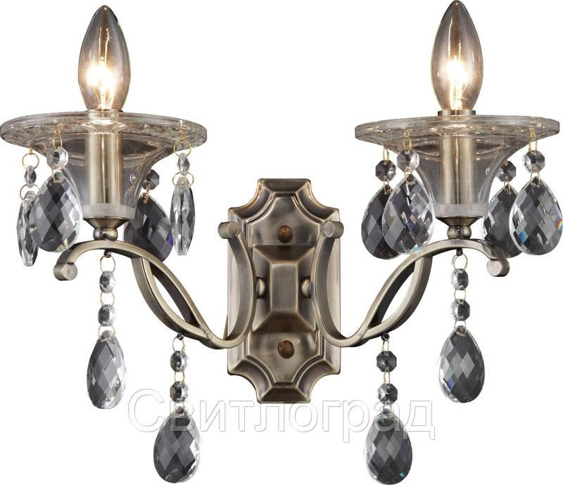Бра Свеча  Классика  Altalusse INL-1107W-02 Antique Brass