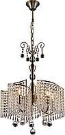 Люстра Хрустальная   Светильник Подвесной Altalusse INL-1112P-05 Antique Brass