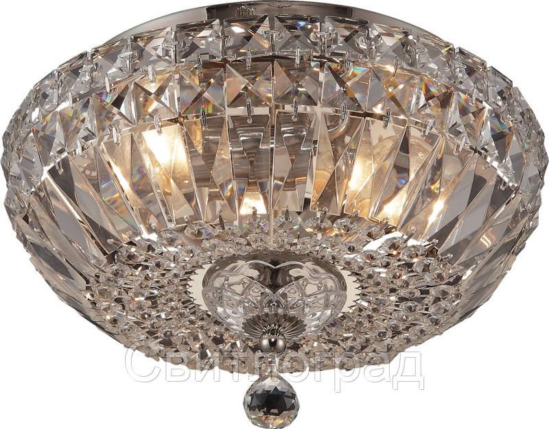 Люстра Хрустальная   Светильник Потолочный Altalusse INL-1125C-03 Polish Nickel