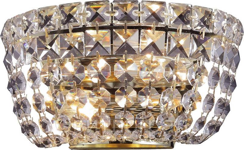 Бра Хрустальное    Altalusse INL-1125W-02 Gold