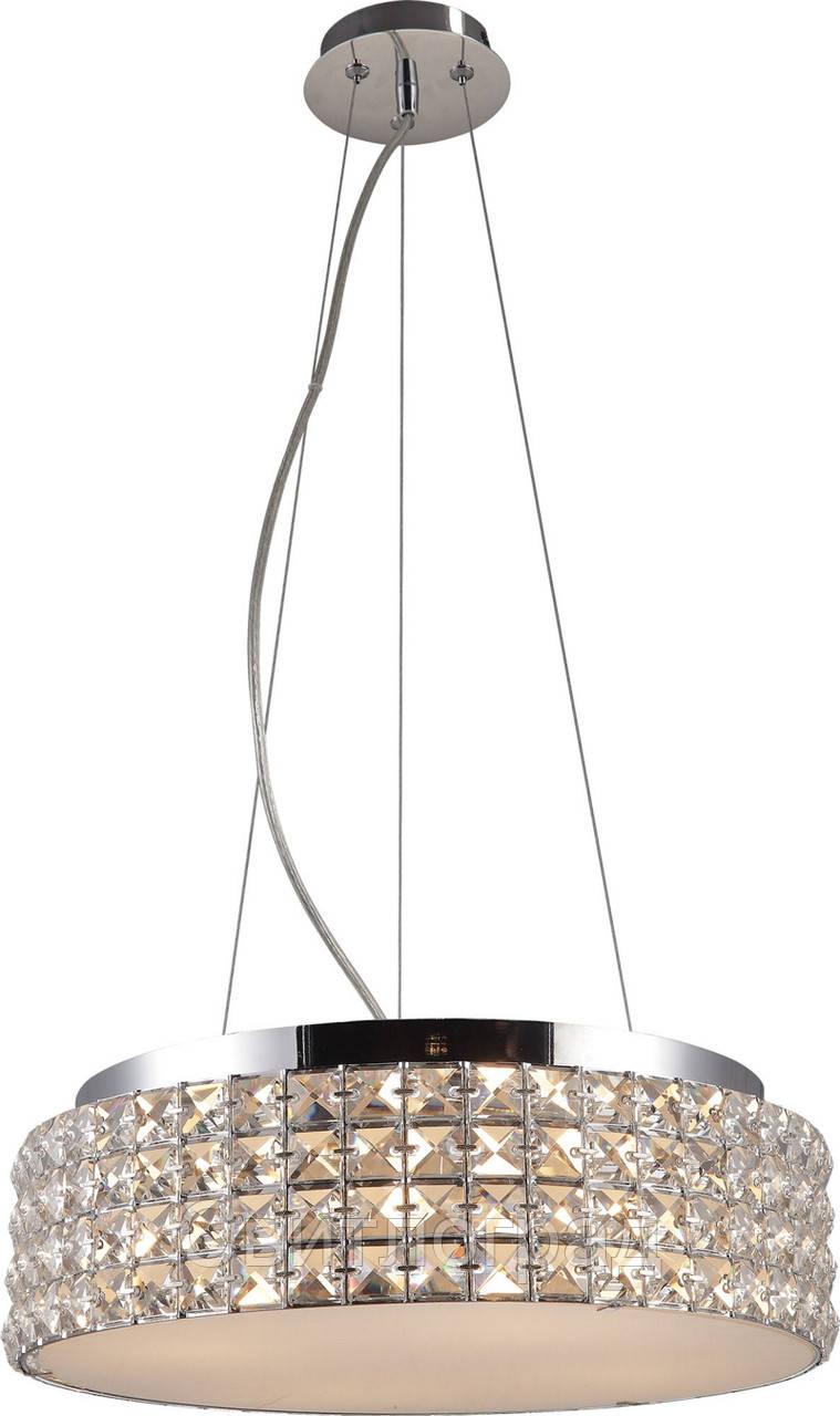Люстра Хрустальная   Светильник Подвесной Altalusse INL-1128P-04 Chrome