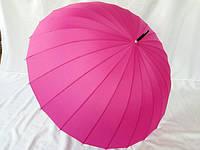 Однотонный зонт трость на 24 спицы №152 от MARIO