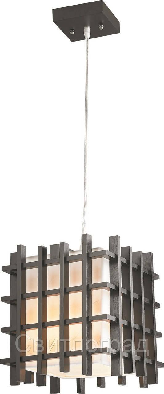 Светильник Подвесной Деревянный    Altalusse INL-3061P-2 Wenge