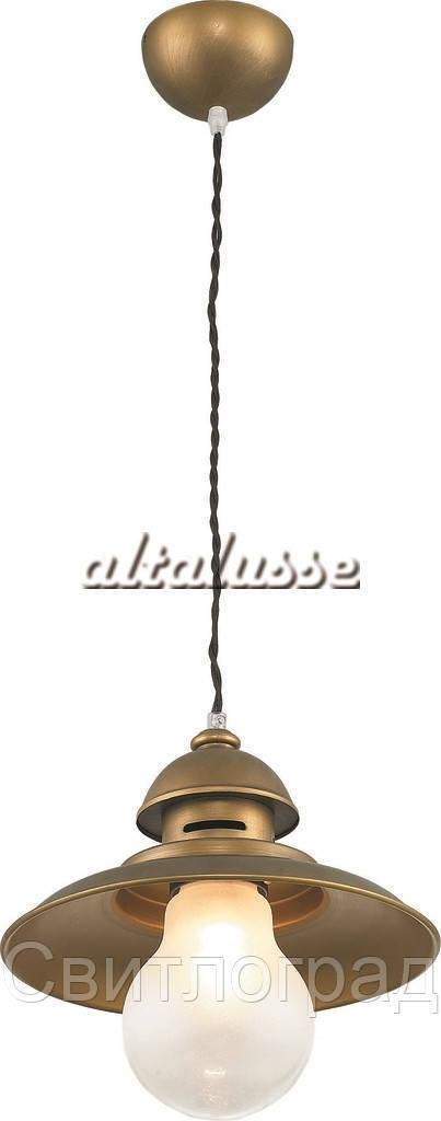 Светильник Подвесной Loft  с Плафонами  Altalusse INL-6091P-21 Brushed Gold