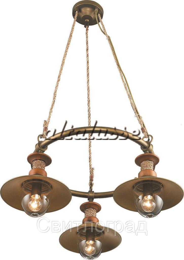 Светильник Подвесной Loft   Люстра Altalusse INL-6097P-03 Brushed Gold