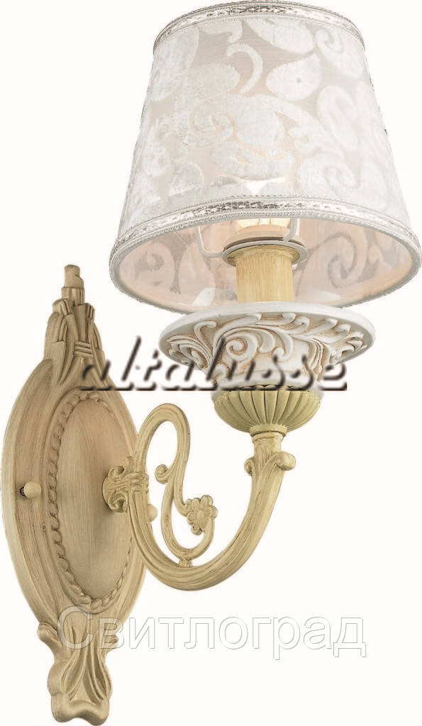 Бра Классика  c Абажурами  Altalusse INL-6099W-01 Ivory White