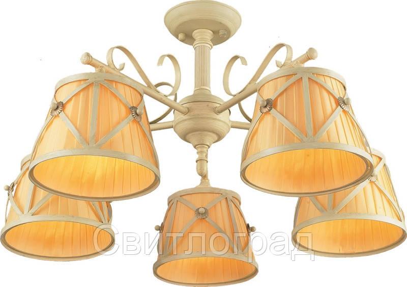 Люстра с Плафонами   Светильник Потолочный Altalusse INL-6100C-05 Ivory White