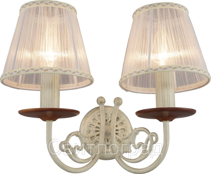 Бра Классика  c Абажурами  Altalusse INL-6117W-02 Ivory Gold