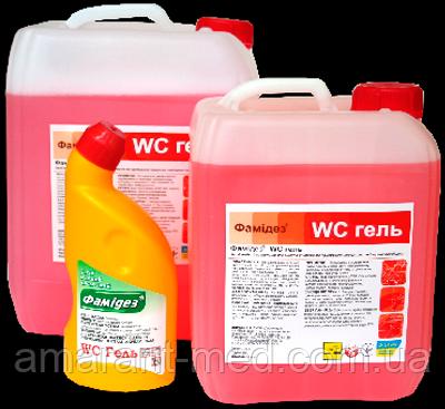 Фамідез® Гель для чистки туалету 10,0 л