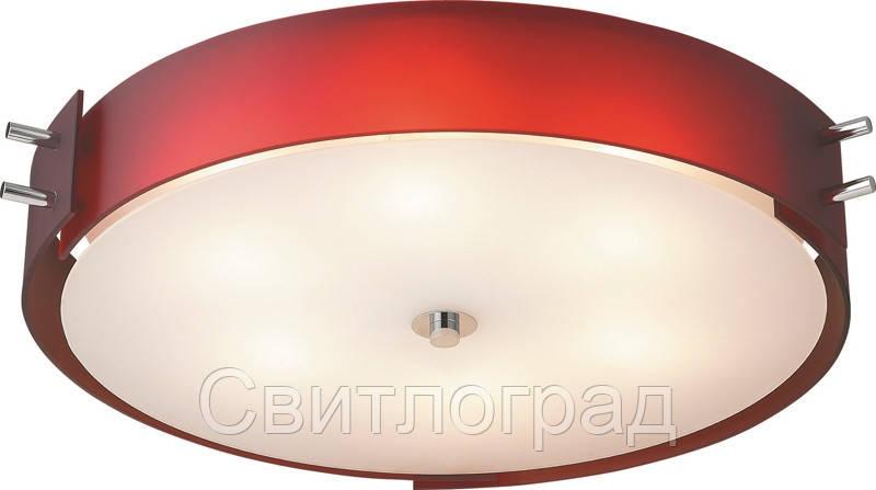 Светильник Потолочный с Плафонами    Altalusse INL-9071C-6 Red