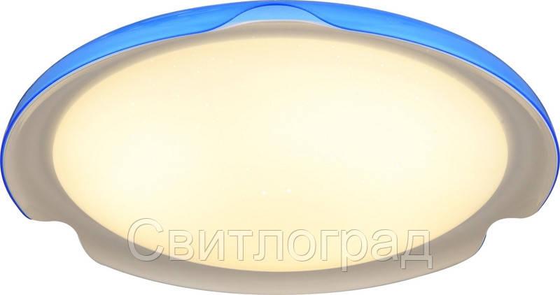 Светильник Потолочный Led с Пультом Д/У    Altalusse INL-9336C-24 Blue