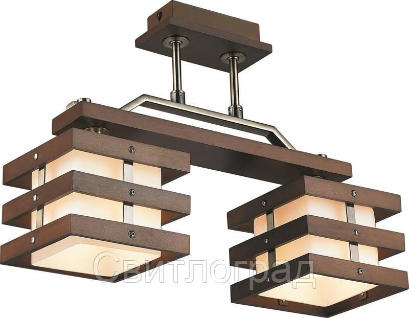 Светильник Потолочный Деревянный    Altalusse INL-9215C-02 Walnut