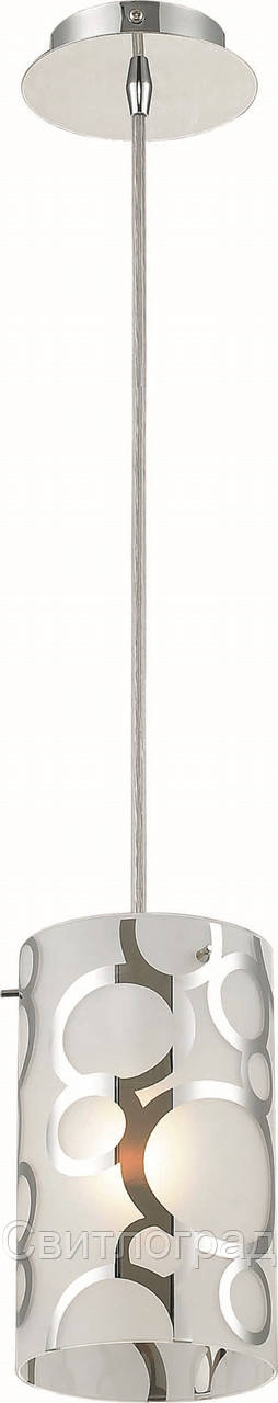 Люстра с Плафонами   Светильник Подвесной Altalusse INL-9272P-01 Chrome